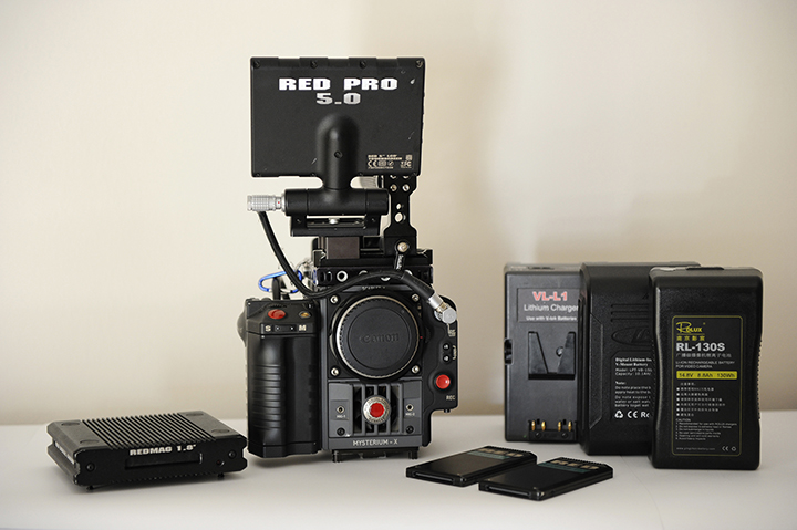 fs red cameras] scarlet x package (canon mount, 5\